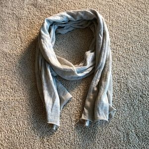 Silver and grey J. Crew scarf